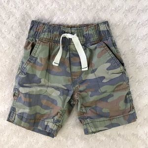 Carter's Size 4 Camo Shorts Camouflage